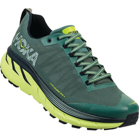Hoka One One Challenger ATR 4 Running Shoes Men Silver Pine/Chinos Green